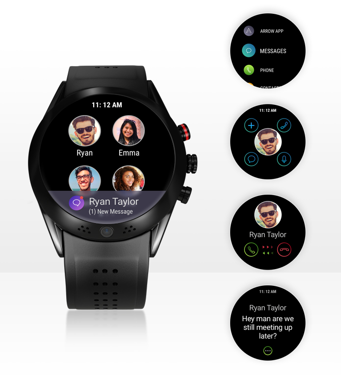 ✨The latest ✨2020 Smartwatch with 360 Rotating HD Camera