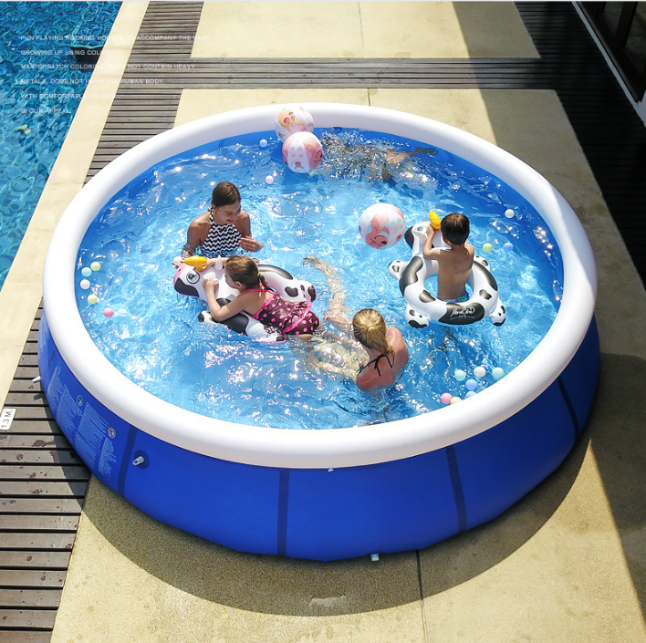 (In stock) Large Inflatable Swimming Pool (Free send an electric air pump and Free Shipping!)