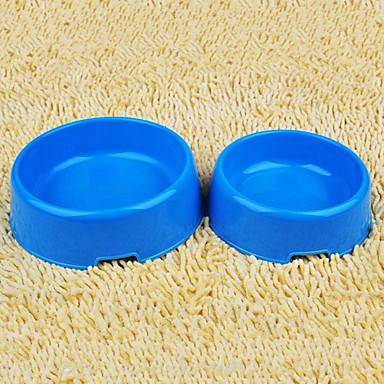3 L Dogs / Rabbits / Cats Bowls & Water Bottles / Feeders Pet Bowls & Feeding Waterproof / Portable / Durable Purple / Yellow / Blue