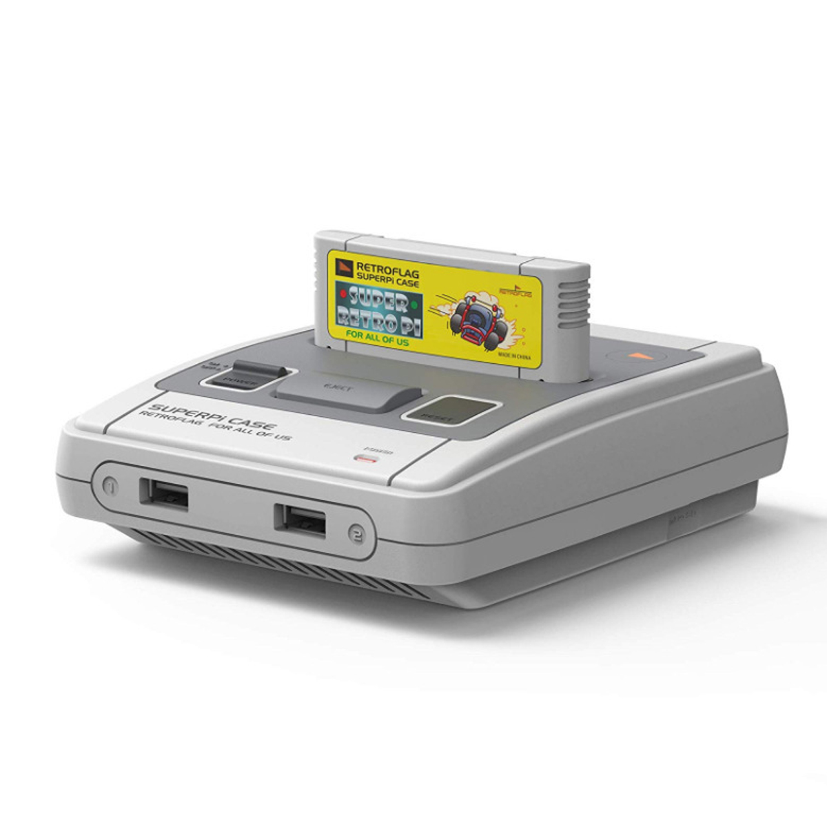 RETROFLAG SUPERPI CASE DELUXE EDITION-J/U WITH CLASSIC USB CONTROLLER FOR RASPBERRY PI
