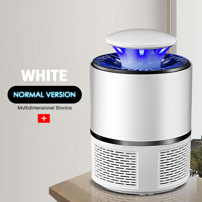 Mosquitoes Eliminator For Indoor And Outdoor With LED Light, Noiseless And Nontoxic