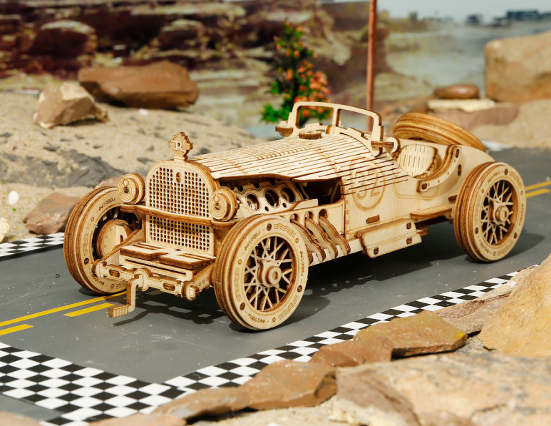 Wooden Model Puzzle - Retro car series (Buy 2 Free Shipping)