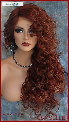 Lace Frontal Wigs Red Hair Red Hot Hair Color Dark Red Hair Wig Hairstyles For Simple Hairstyles For Long Hair Free Shipping