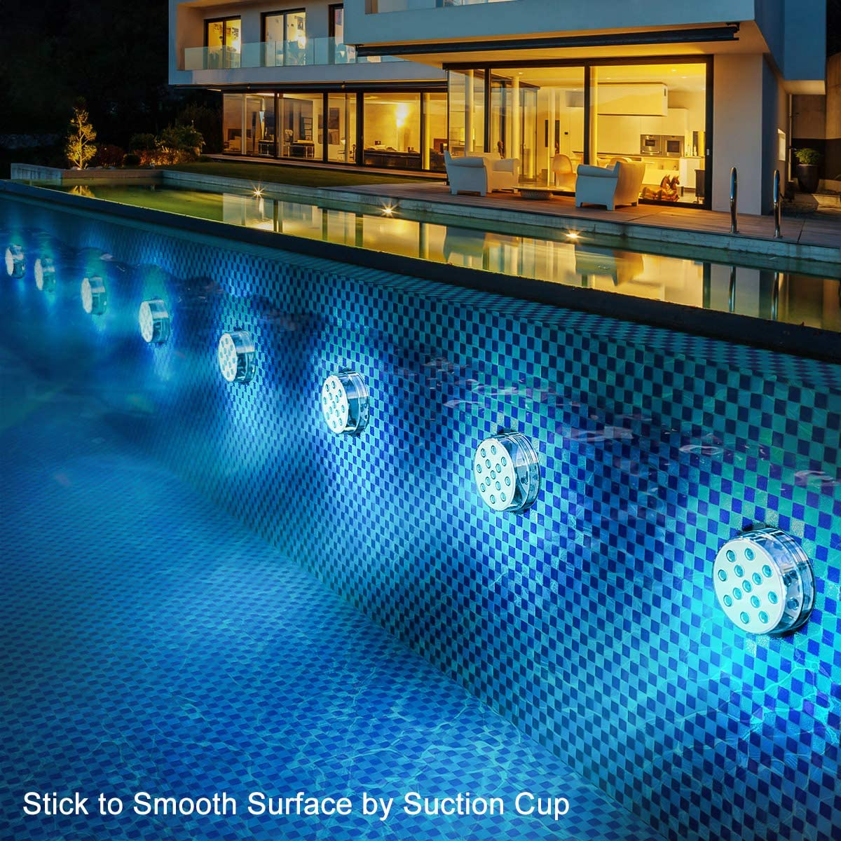 💥50% OFF💥Submersible LED Pool Lights Remote Control (RF)