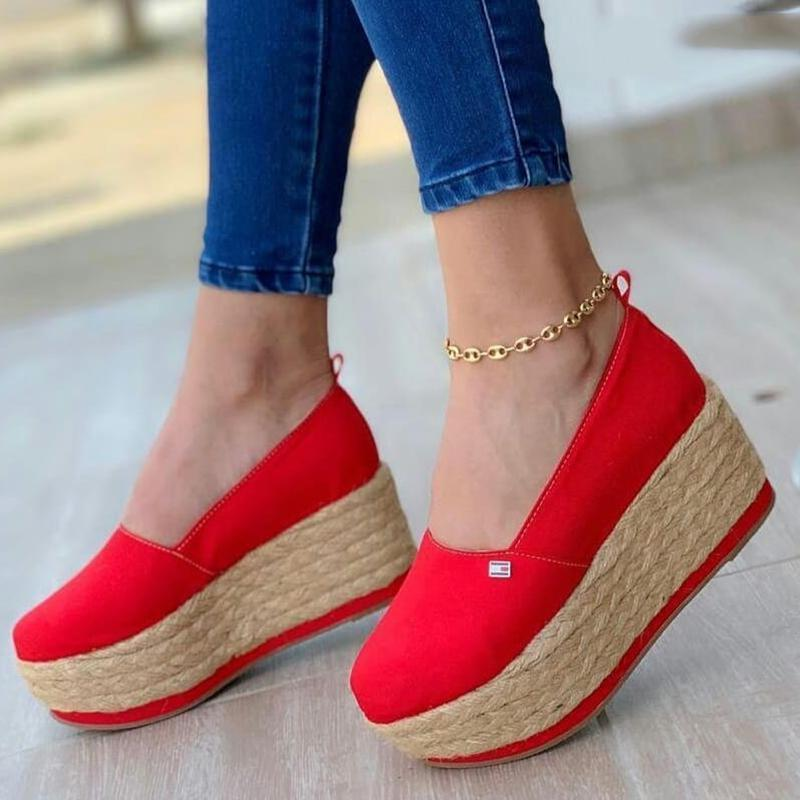 Women's Casual Platform Wedge Loafers & Flats