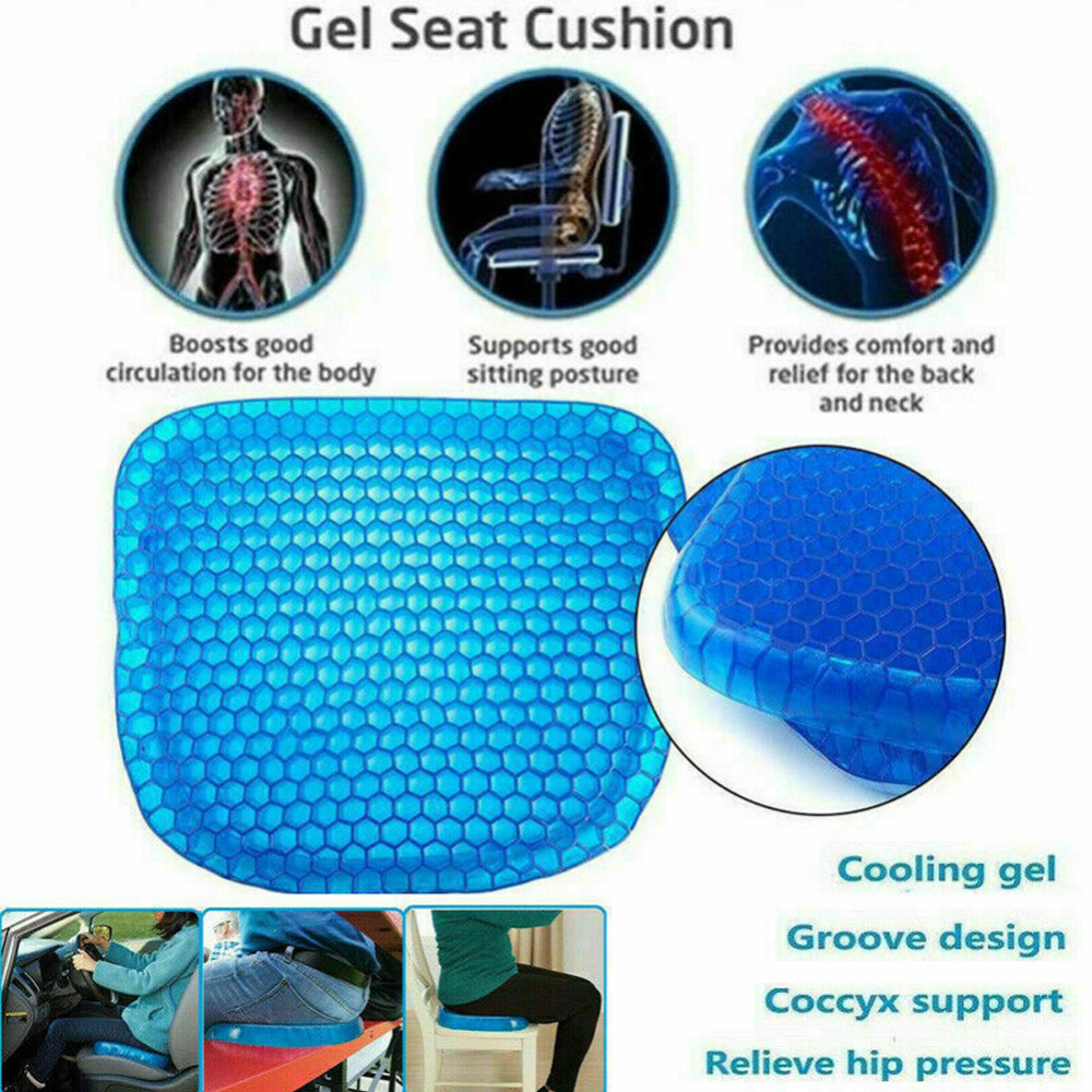 Ice Gel Cooling Pad Seat Cushion Non-slip Soft and comfortable