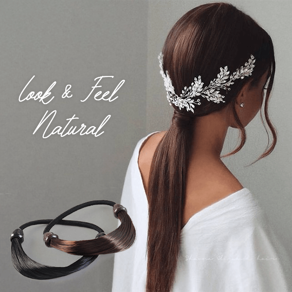 Buy 3 Get 1 Free - Straight Wig Elastic Hair Band