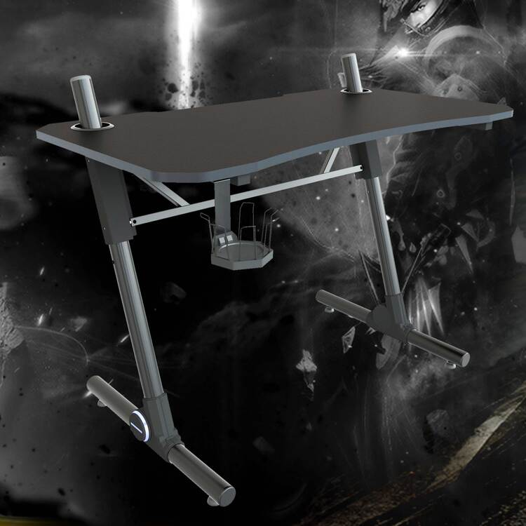 Gaming desk(with 1*Cup Holder)