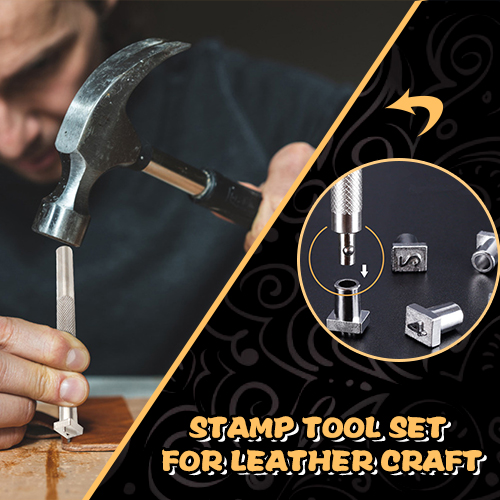 Stamp Tool Set for Leather craft