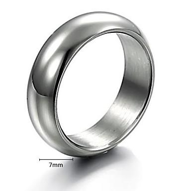 Men's Band Ring Titanium Steel Alloy Simple Fashion engineering Christmas Gifts Wedding Jewelry