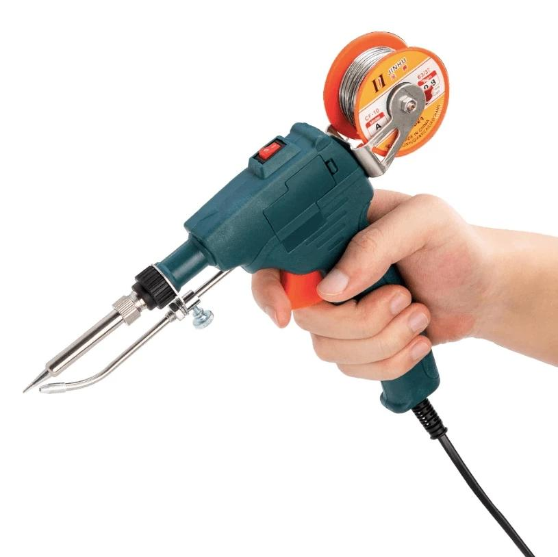 Auto Feed Soldering Iron 【Now you can get 50g of welding wire for free】