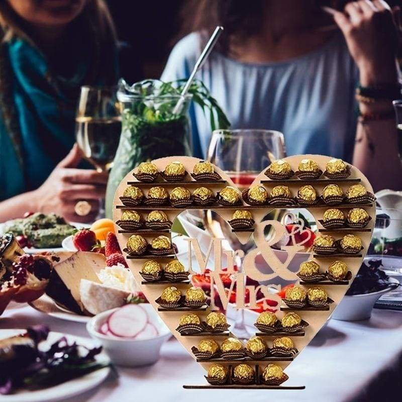 Fashion New Ferrero Rocher Chocolate Stand Wedding Centre Display Stand Birthday Party Decoration Candy Bars Chocolate Stand