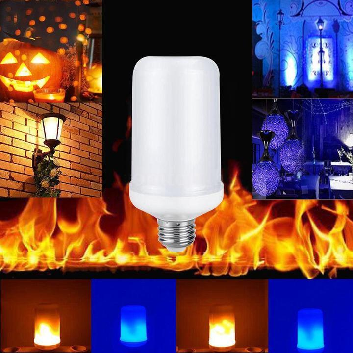 50%OFF-LED Flicker Flame Effect Simulated Nature Fire Light Bulb(🔥Buy 4 Free Shipping🔥)