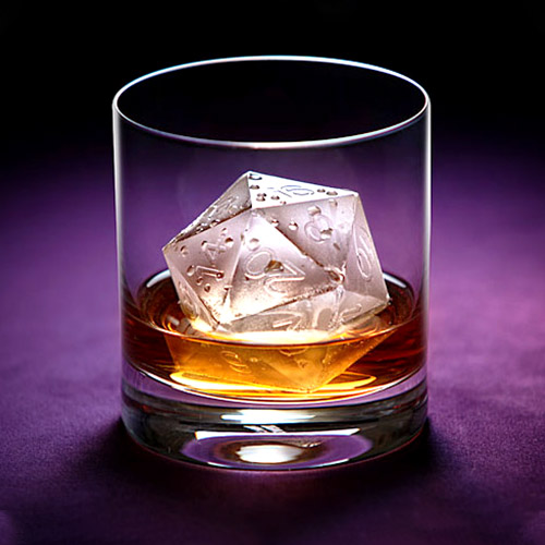 DICE ICE CUBE MOULD
