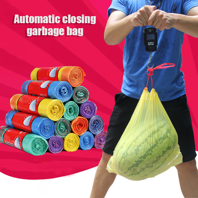2019 Newest Automatic closing garbage bag