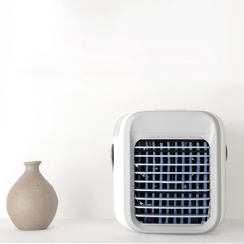 USB Charging Portable Desktop AC Ultra, Air Cooler, 3 Speed Levels for Home, Office, Bedroom
