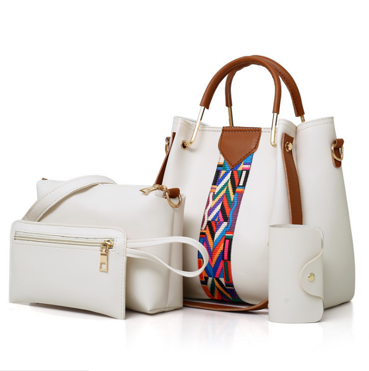 Large capacity four-piece female bag