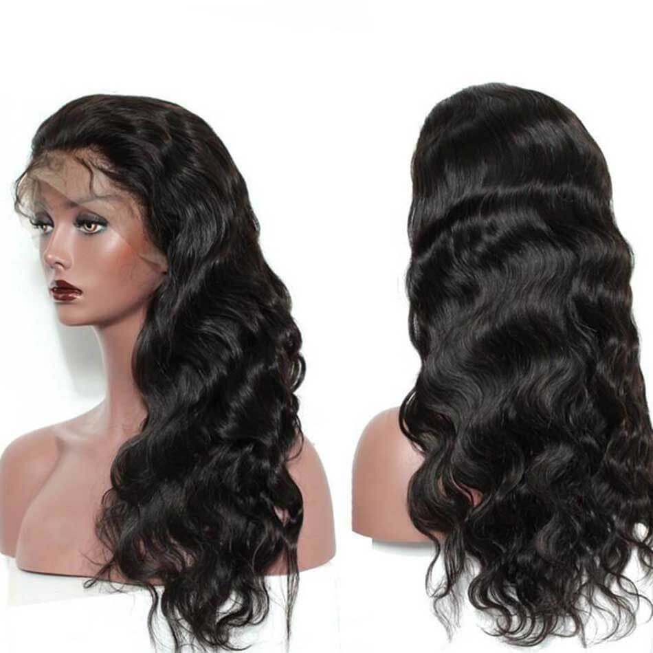 High quality lace front wig Body Wave 360 Lace Front Wig natural hairline