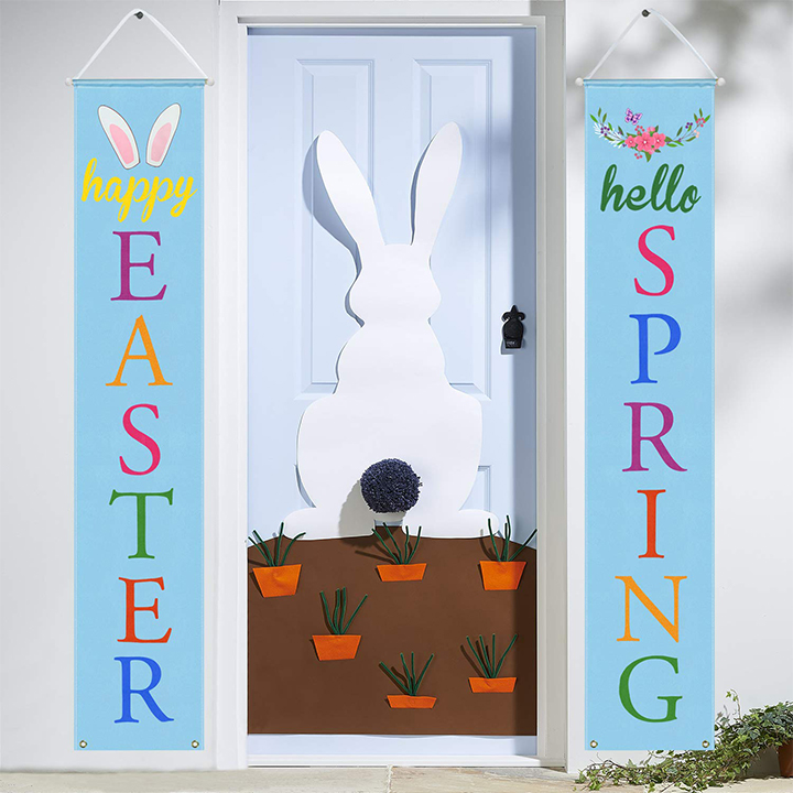 Easter porch sign