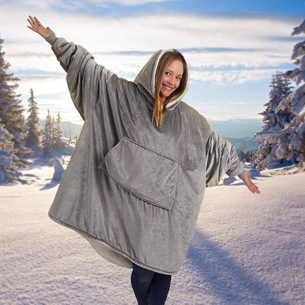 🎅🎅Christmas Hot Sale!!!-Winter Oversized Warming Hoodie(Buy 2 Save 10% OFF+Free Shipping)