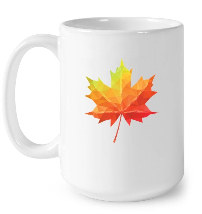 Canada Maple Leaf Canadian National Country Flag Tee Gift Coffee Mug