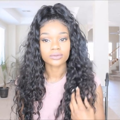2019 New Quality Natural Basic Cap Front Lace Wig
