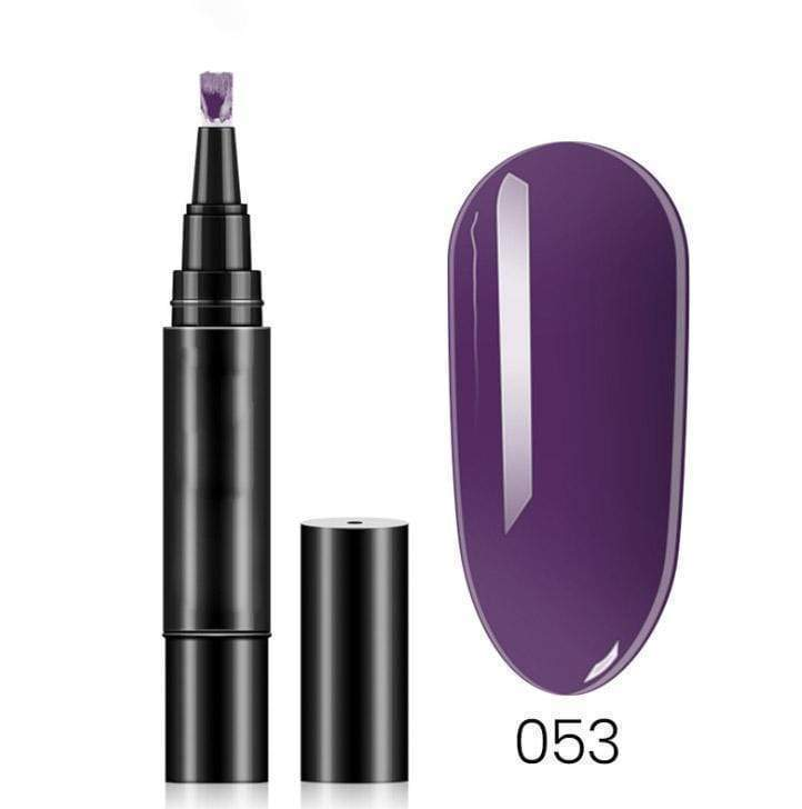 18 Colors One Step Nail Polish Pen - 50% OFF
