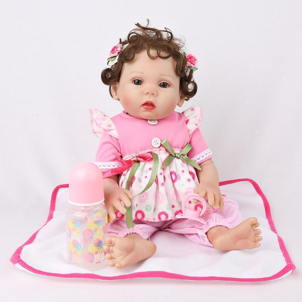 16 inch Zoey Full Silicone Baby Girl