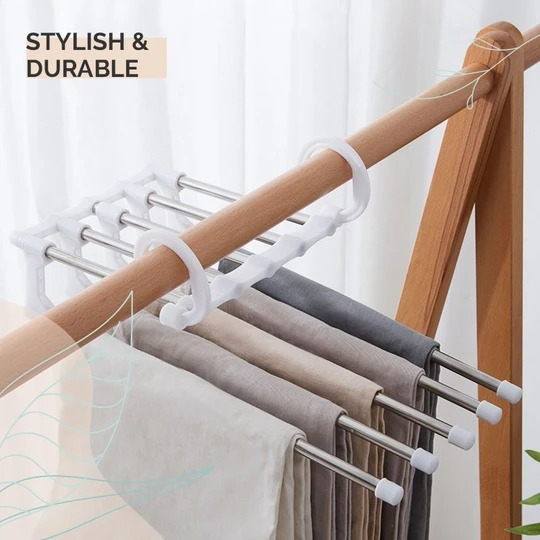 (Last day Promotion - 50% OFF) Multi-Functional Pants Rack & BUY 3 GET 1 FREE
