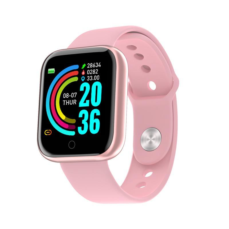 Y68 Smart Watch  Waterproof Bluetooth Fitness Tracker For Android IOS