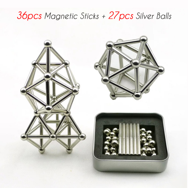 (Last Day Promotion&50% OFF)DIY Magnetic Creative Toys - Suitable for kids and adults of all ages