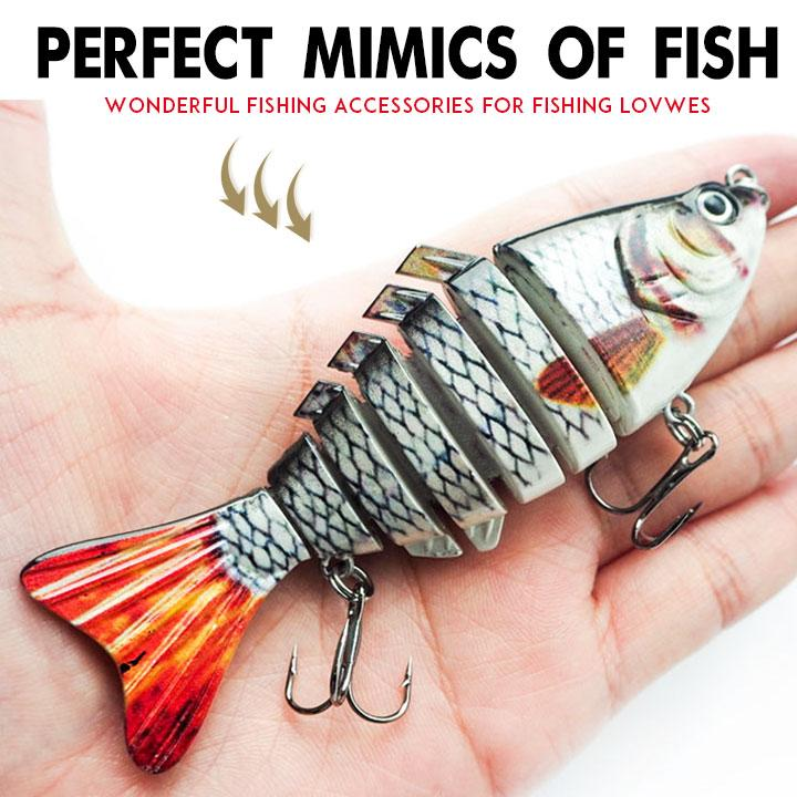 Bionic Swimming lure - Suitable for all kinds of fishing waters