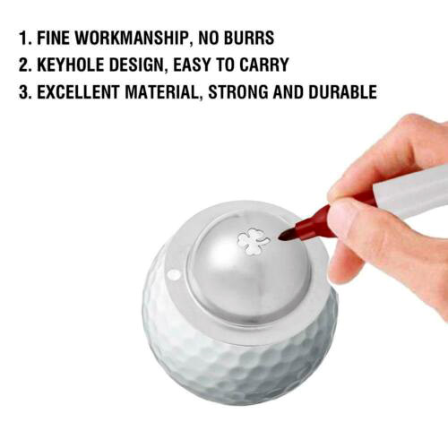 (50% OFF) Personalized Golf Ball Marker