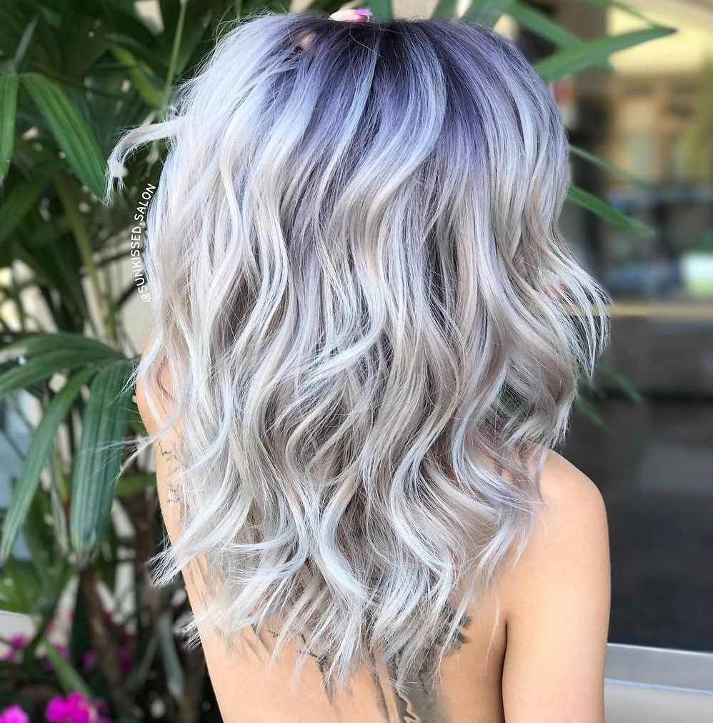2020 Best Lace Front Wigs Grey With Dark Roots Prevent Grey Hair Dusty Rose Hair Pink 360 Lace Wig