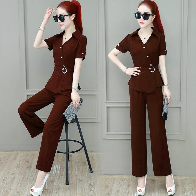 Professional / leisure two-piece lady suit