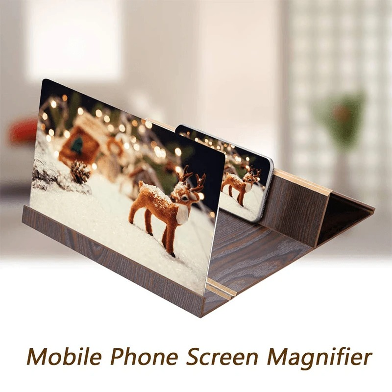 3D High Definition Mobile Phone Screen Magnifier