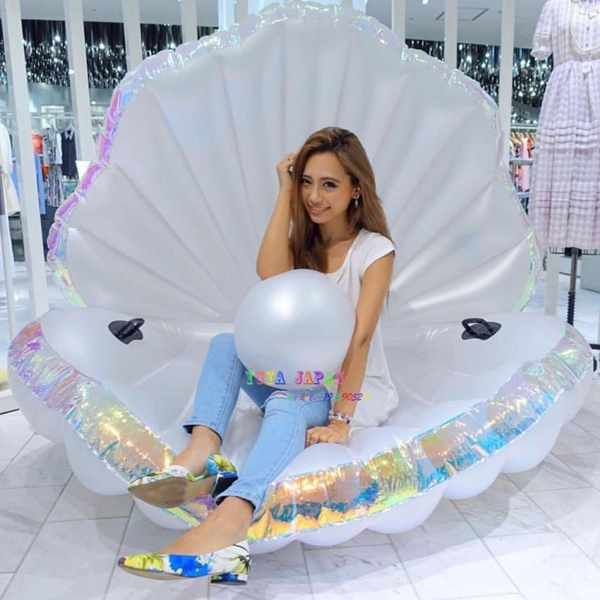 170cm Giant Inflatable Shell Pool Float