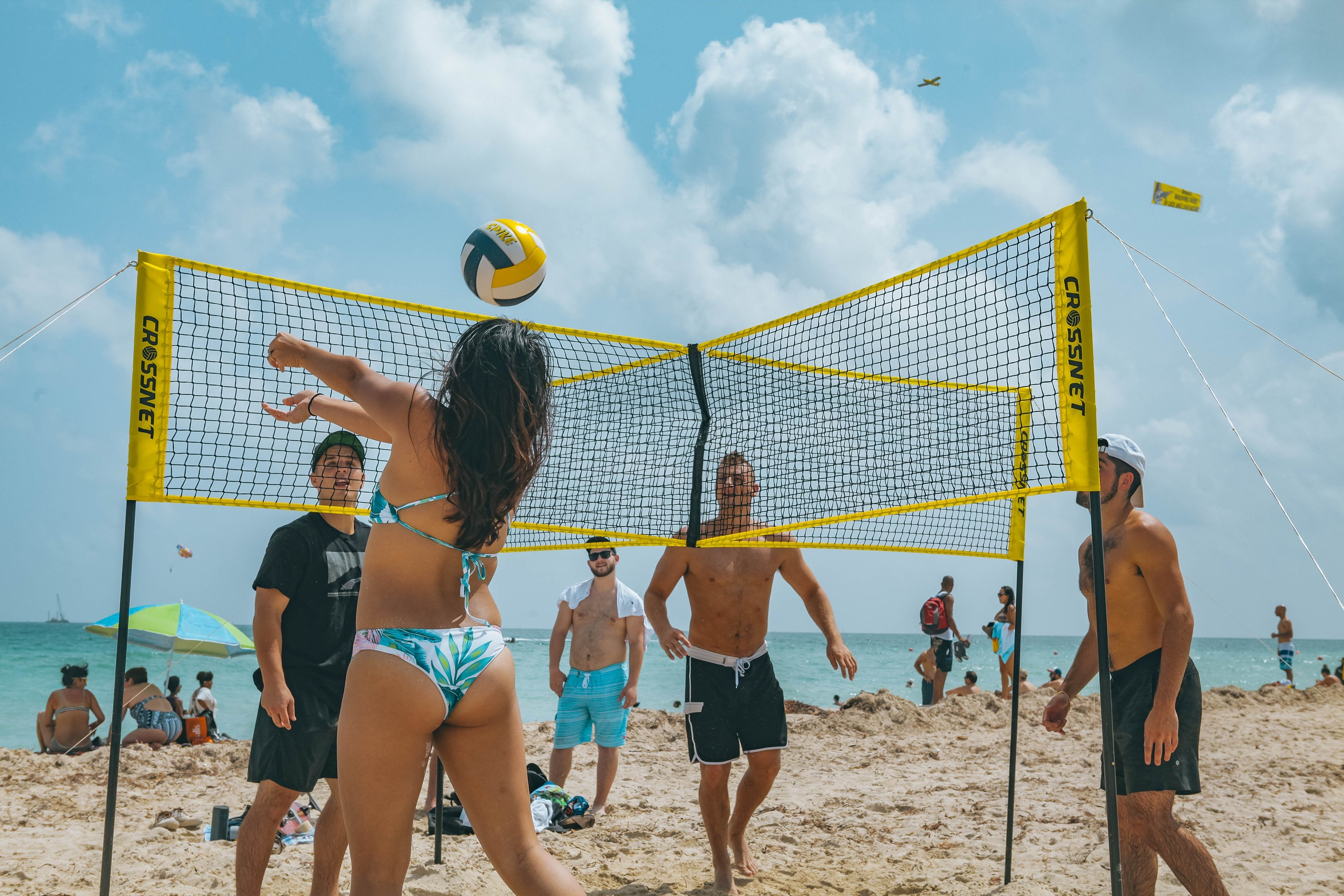 CROSSNET Four Square Volleyball Net【FREE SHIPPING】