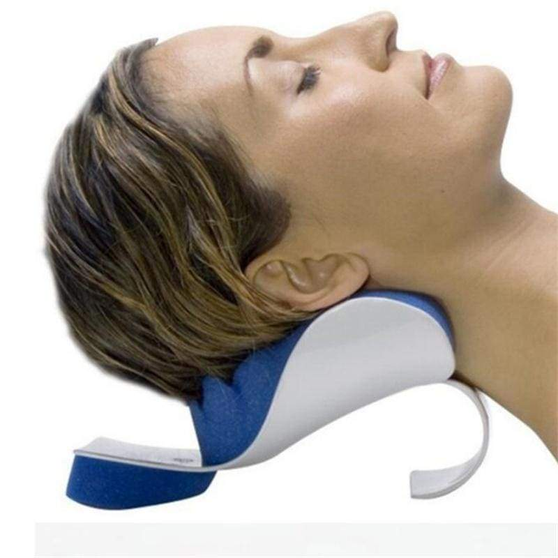 Neck&Head Support Massager Pillow Head Neck Shoulder Relaxer Pain Relief Muscle Tension Reliever Soreness Theraputic