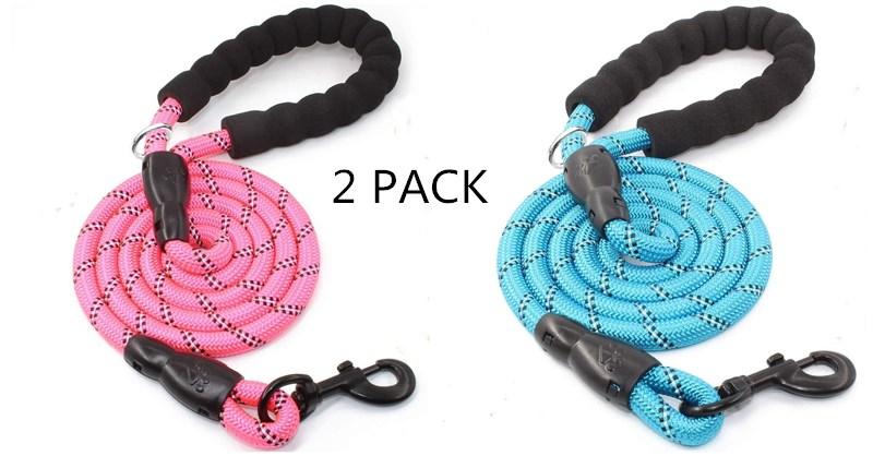Half price for the second item,Dog Leash for Medium and Large Dogs up to 150 lbs.