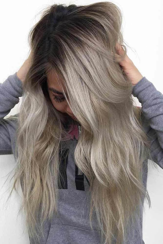 2020 New Gray Hair Wigs For African American Women Best Human Hair Wigs Online Shiny Grey Hair Blonde To Grey Full Lace Synthetic Wig Salt And Pepper Hair Color