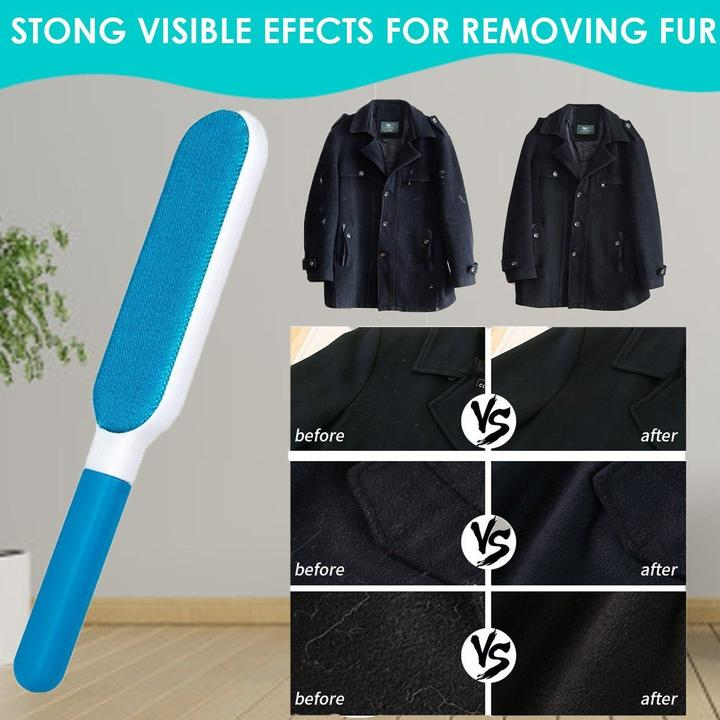 (Last Day Promotion&49% OFF) Double Sided Lint Remover Brush