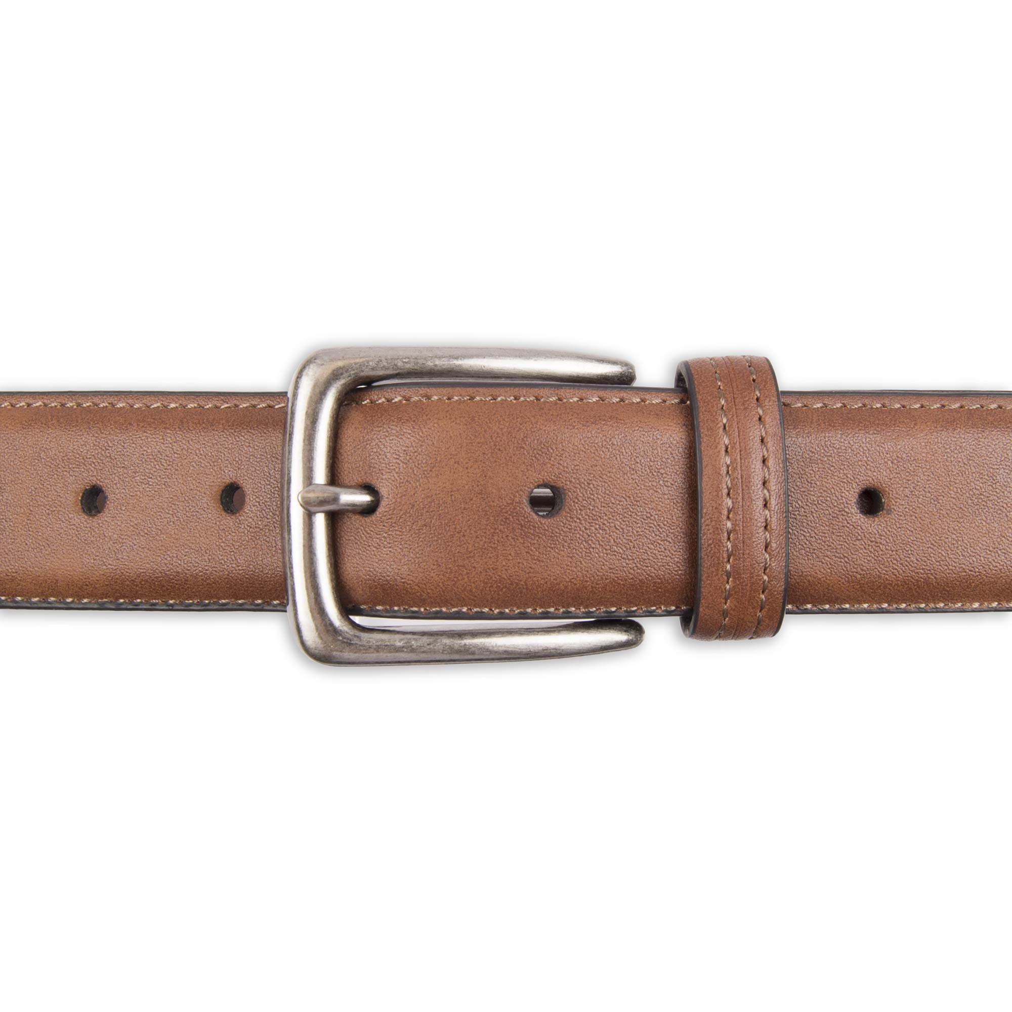 Men's Casual Leather Belt -Trinity Style for Jeans