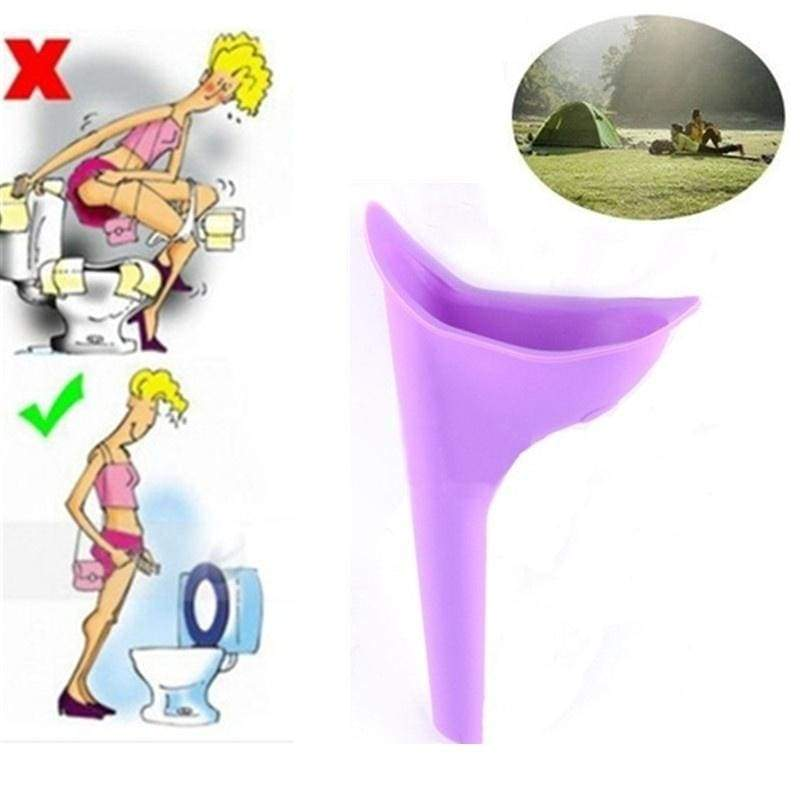 Portable Female Women Urinal Camping Travel Urination Toilet Urine Device