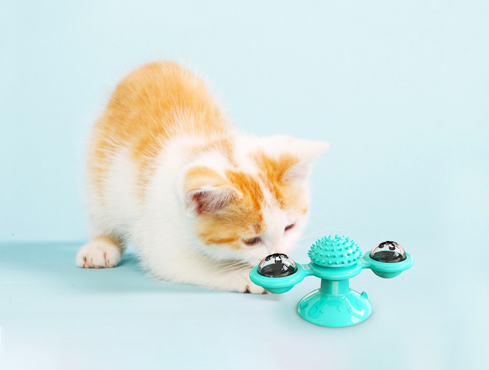 50% OFF TODAY🥳Windmill Cat Toy 🎁【Free Gift Grooming Glove】