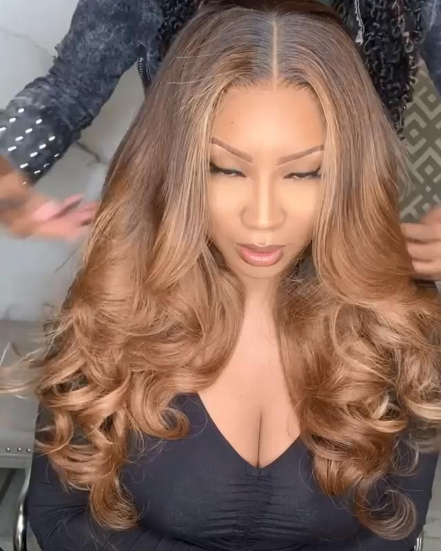 Lace Front Wigs Blonde Ombre On Dark Hair Lace Wig Human Hair Blonde Light Blonde Wig