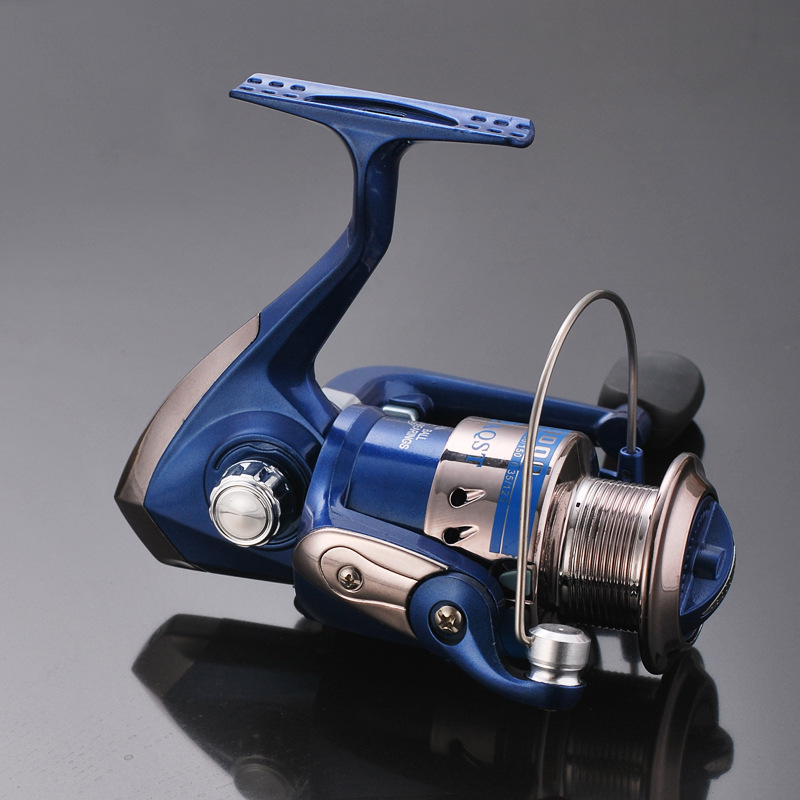 High Quality Portable Ultra Smooth Powerful Spinning Fishing Reel Stainless Steel 5bb Freshwater Saltwater Gear Ratio 5. 1: 1 Sea Fishing