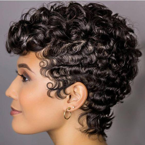 Best sales-Fashion Bob Short Curls Wig