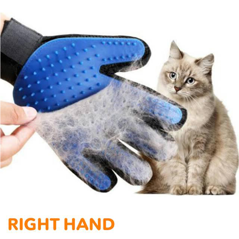 Pet Grooming Gloves - Cleaning Massage Cat And Dog Brush Glove