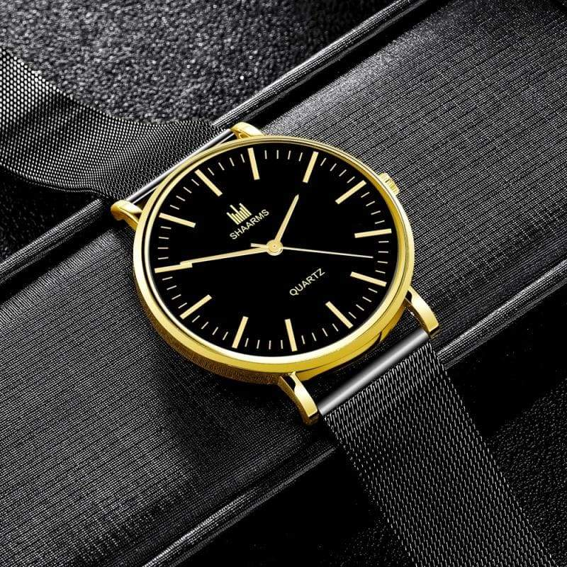 Fashion Mens Leather Watches Quartz Watches Business Casual Watch For Man Clock Gift For Men Montre Homme